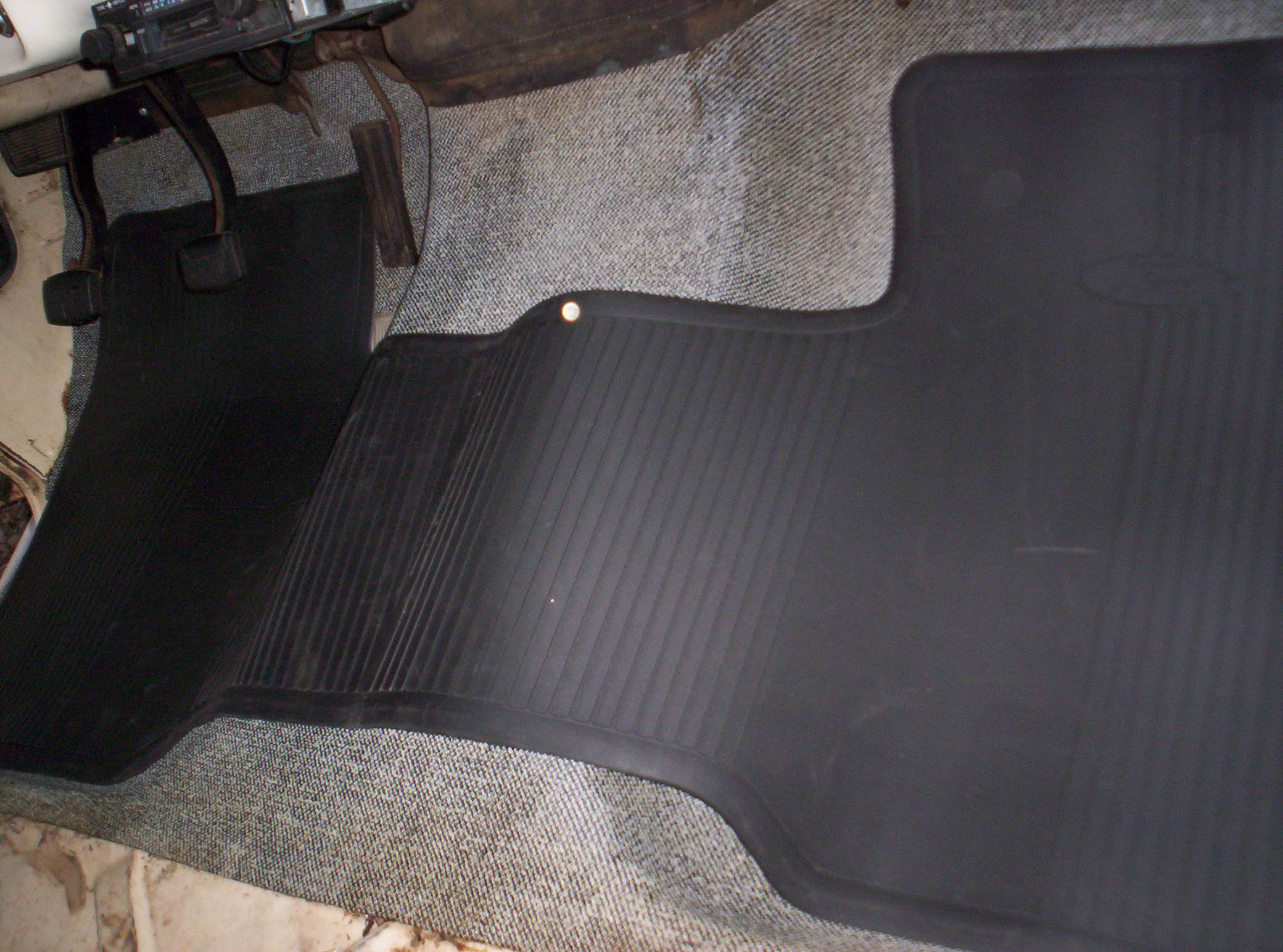 Ford Logo Floor Mat