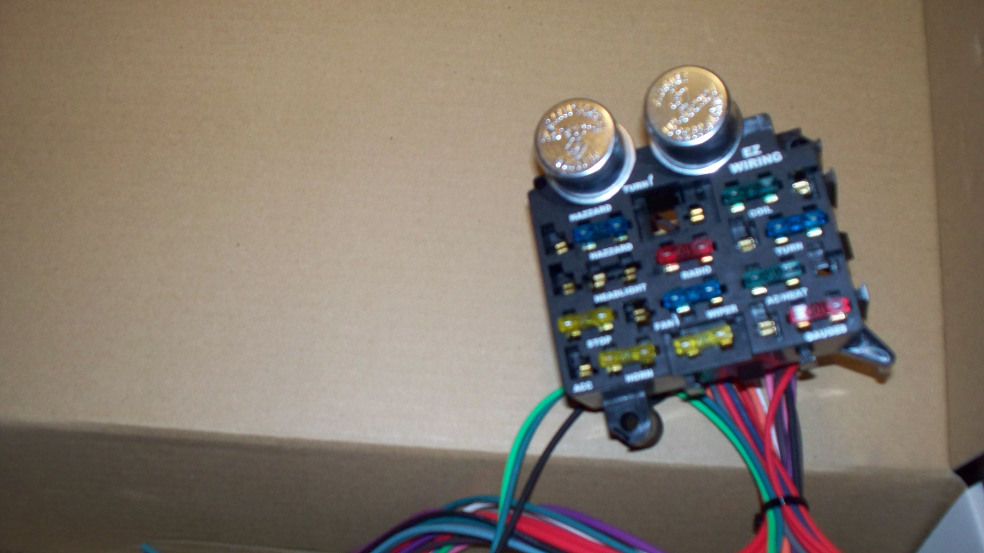 with push in fuses