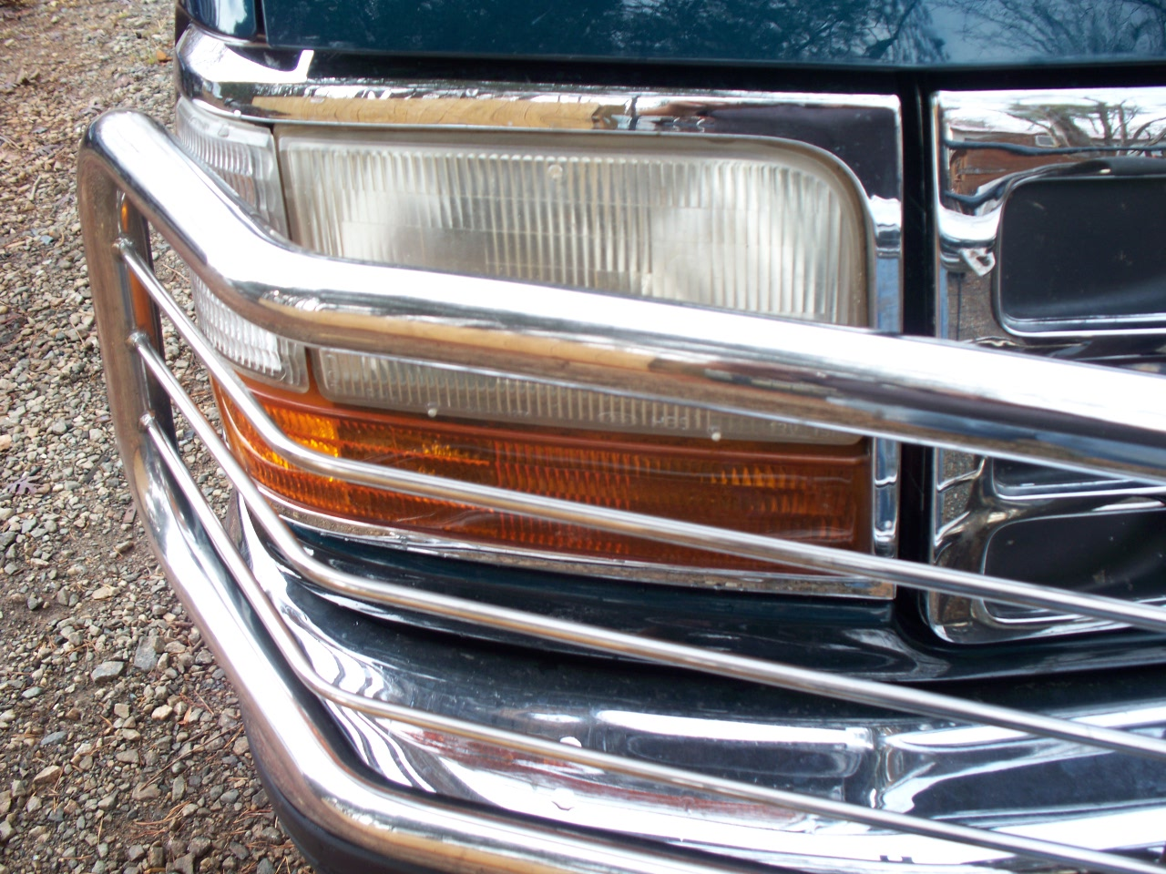 Chrome RH Headlight Door