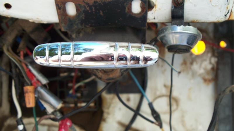 Chrome brake handle