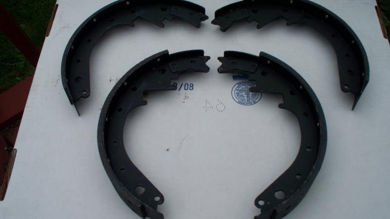 new improved rear brake shoes