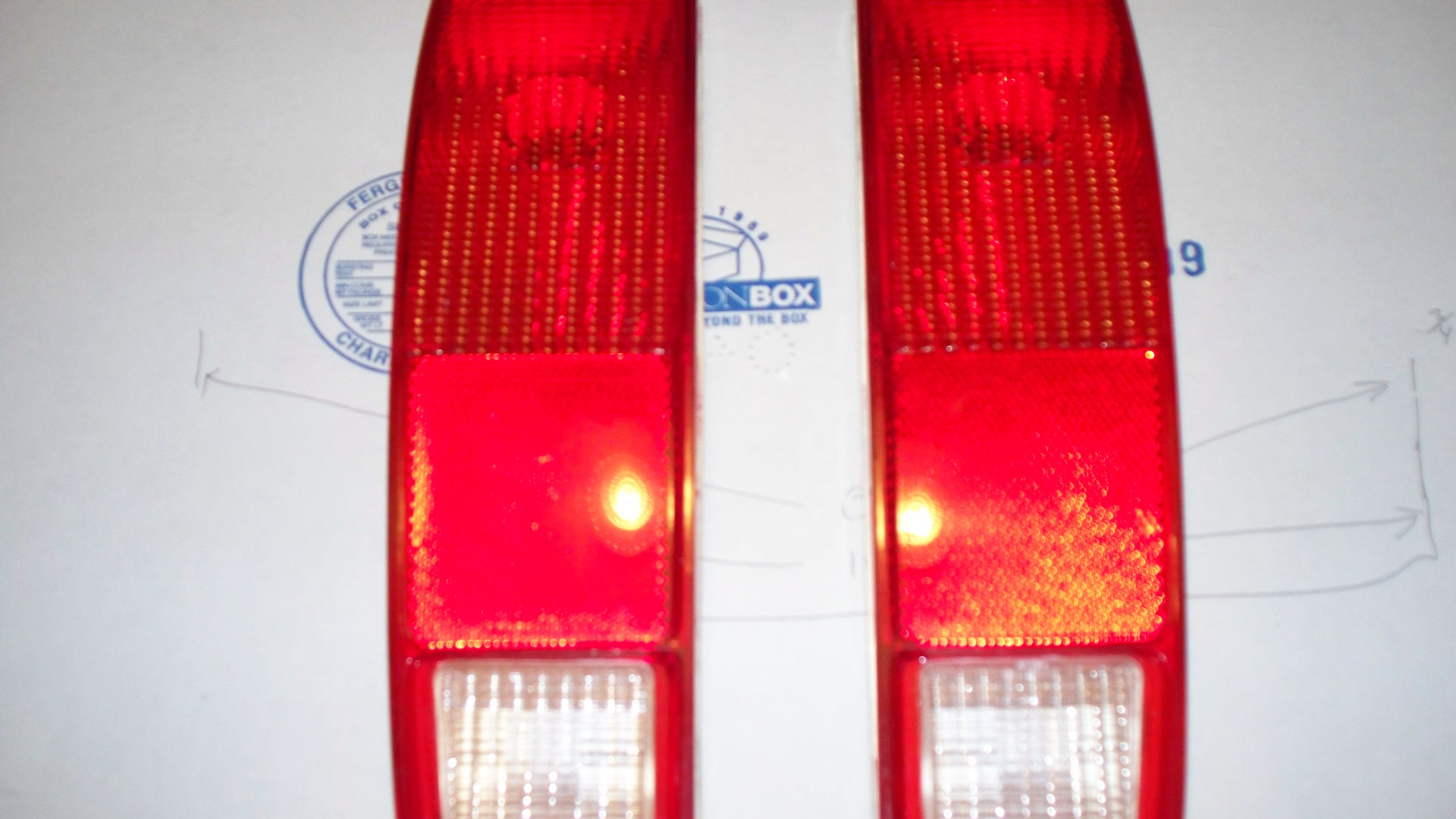 74/79 rear lights